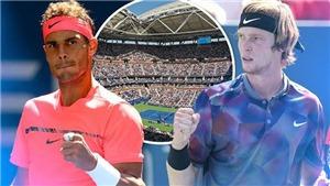 Video clip highlights Nadal vs Rublev. Kết quả ATP Finals 2020