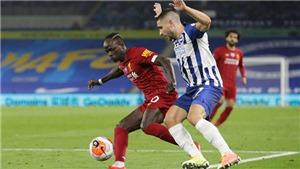 Lịch thi đấu bóng đá hôm nay: Trực tiếp Brighton vs Liverpool, Man City vs Burnley. K+, K+PM