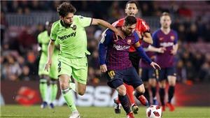 Link xem trực tiếp Barcelona vs Levante. Trực tiếp bóng đá La Liga vòng 13