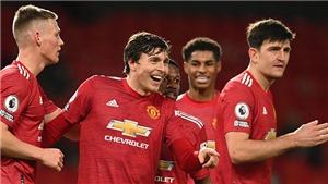 Kết quả bóng đá 12/1, sáng 13/1. Thắng Burnley, MU lên ngôi đầu bảng Ngoại hạng Anh