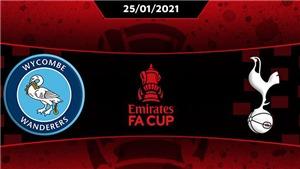Kết quả bóng đá 25/1, sáng 26/1. Gareth Bale nổ súng, Tottenham vào vòng 5 cúp FA
