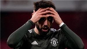 Bảng xếp hạng Ngoại hạng Anh: MU hụt hơi trước Man City, có nguy cơ tụt xuống thứ ba