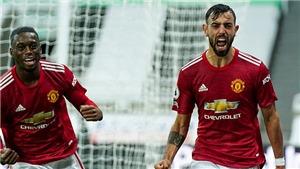 Video clip bàn thắng trận MU vs Newcastle