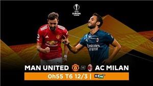 Link xem trực tiếpMU vs Milan . K+, K+PM trực tiếp bóng đá Cúp C2 châu Âu
