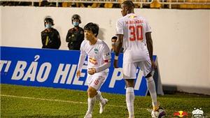 Kết quả bóng đá hôm nay: HAGL vs Bình Định, Quảng Ninh vs TPHCM, Viettel vs Bình Dương
