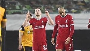 Wolves 0-1 Liverpool: Diogo Jota tỏa sáng, Liverpool lọt vào Top 6