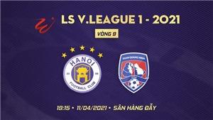 Lịch thi đấu bóng đá hôm nay. Trực tiếp Bình Định vs Viettel, Hà Nội vs Quảng Ninh. BĐTV, VTV5