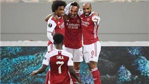 Video clip bàn thắng trận Slavia Praha vs Arsenal