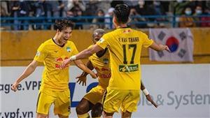 Lịch thi đấu bóng đá hôm nay. Trực tiếp HAGL vs An Giang, Phố Hiến vs SLNA. BĐTV, TTTV
