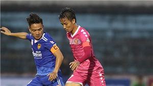 Lịch thi đấu bóng đá hôm nay. Trực tiếp Quảng Nam vs Sài Gòn, Bình Định vs Long An. BĐTV, TTTV