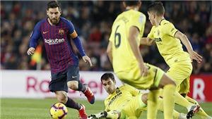 Video clip bàn thắng trận Villarreal vs Barcelona