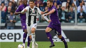 Video clip bàn thắng Fiorentina vs Juventus