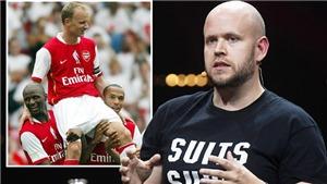 Spotify lên kế hoạch mua Arsenal, mời 3 huyền thoại Pháo thủ vào ban lãnh đạo