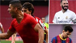 Cuộc đua vô địch La Liga: Barcelona đầu hàng, Real Madrid chờ Atletico sảy chân