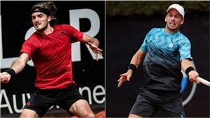 Kết quả tennis hôm nay. Thắng dễ Cameron Norrie, Tsitsipas vô địch Lyon Open