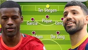 Đội hình Barcelona mùa tới: Cách mạng với Aguero, Depay, Wijnaldum và Eric Garcia