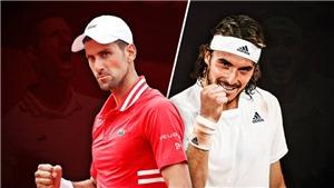 Xem trực tiếp tennis Djokovic vs Tsitsipas, chung kết Pháp mở rộng 2021