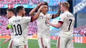 ĐIỂM NHẤN Đan Mạch 1-2 Bỉ: Tinh thần Eriksen là chưa đủ. Người hùng De Bruyne