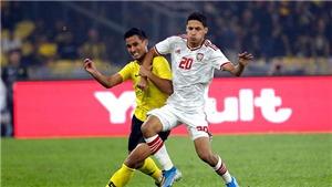 Kết quả bóng đá 3/6, sáng 4/6. UAE đại thắng Malaysia, Thái Lan bị Indonesia cầm hòa