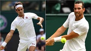Kết quả tennis Wimbledon ngày 29/6, sáng 30/6: Federer khởi đầu suôn sẻ, Serena rút lui