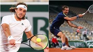 Kết quả Roland Garros hôm nay. Zverev, Tsitsipas vào bán kết. Medvedev dừng cuộc chơi
