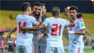 Cục diện các đội nhì vòng loại World Cup 2022 khu vực châu Á: UAE chưa thể yên tâm
