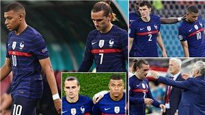 Bê bối mới của tuyển Pháp ở EURO 2021: Mbappe ghen tị với Griezman