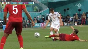 Thụy Sĩ vs Tây Ban Nha: Thẻ đỏ cho Thụy Sĩ liệu có quá nặng?