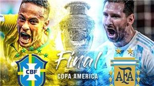 Lịch thi đấu, trực tiếp bóng đá Copa America 2021 hôm nay trên BĐTV, TTTV (11/7/2021)