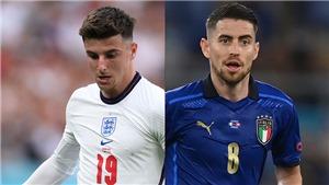 Nhận định Anh vs Ý: Muốn thắng Ý, tuyển Anh phải quấy rối Chiellini và khống chế Jorginho