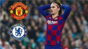 Chuyển nhượng Barcelona: Griezmann không trở lại Atletico, có thểtớiMU hoặc Chelsea