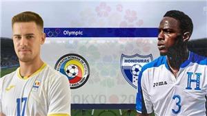 VTV6 VTV5 - Xem trực tiếp bóng đá U23 Honduras vs Romania, Olympic 2021 (18h00, 22/7)