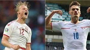 Đội hình dự kiến Séc vs Đan Mạch: Ngày Schick đọ tài Dolberg