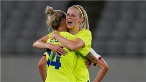 Trực tiếp bóng đá Nữ Thụy Điển vs Úc. VTV5 VTV6 trực tiếp bóng đá Olympic 2021 (15h30, 24/7)