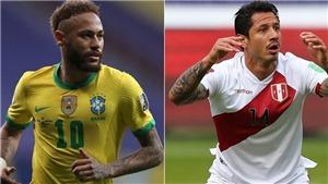Lịch thi đấu, trực tiếp bóng đá Copa America 2021 hôm nay trên BĐTV, TTTV (5/7/2021)