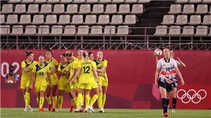 Trực tiếp bóng đá VTV5 VTV6: Nữ Anh vs Úc, Olympic 2021 (16h hôm nay)