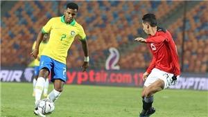 Video U23 Brazil vs Ai Cập, Olympic 2021: Clip bàn thắng highlights