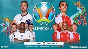 Kèo nhà cái. Soi kèo Anh vs Đan Mạch. VTV3 VTV6 trực tiếp bóng đá EURO 2021