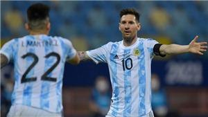 Lịch thi đấu, trực tiếp bóng đá Copa America 2021 hôm nay trên BĐTV, TTTV (7/7/2021)