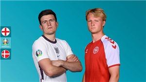 Kết quả bóng đá 7/7, sáng 8/7: Loại Đan Mạch, Anh vào chung kết EURO 2021