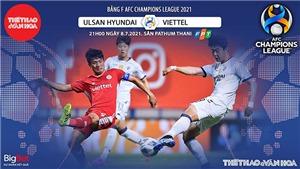 Kèo nhà cái. Soi kèo Ulsan Hyundai vs Viettel. VTC3 trực tiếp bóng đá Cúp C1 châu Á