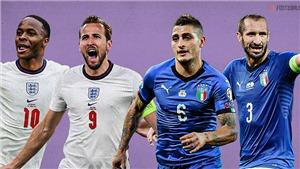 Lịch xem trực tiếp bóng đá EURO 2021 hôm nay trên kênh VTV3, VTV6 (9/7/2021)