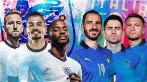 Lịch xem trực tiếp bóng đá EURO 2021 hôm nay trên kênh VTV3, VTV6 (10/7/2021)