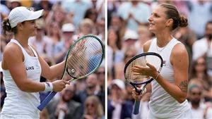 Kết quả Wimbledon hôm nay: Hạ Pliskova, Ashleigh Barty vô địch đơn nữ