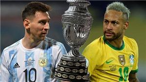 Lịch thi đấu bóng đá hôm nay, 10/7. Trực tiếp bóng đá Copa America 2021, EURO 2021