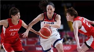 Xem trực tiếp bóng rổ nữ Mỹ vs Nhật Bản, tranh HCV Olympic 2021 (09h30, 8/8)