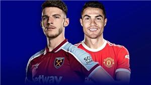 KẾT QUẢ bóng đá West Ham 1-2 MU, Ngoại hạng Anh hôm nay