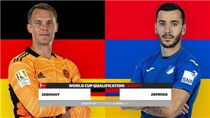 Soi kèo nhà cái Đức vs Armenia và nhận định bóng đá vòng loại World Cup 2022 (1h45, 6/9)