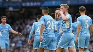 Man City 2-0 Burnley: Bernardo Silva, De Bruyne lập công, Man xanh bám sát Liverpool