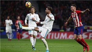 Video clip highlights bàn thắng trận Atletico Madrid 0-0 Real Madrid